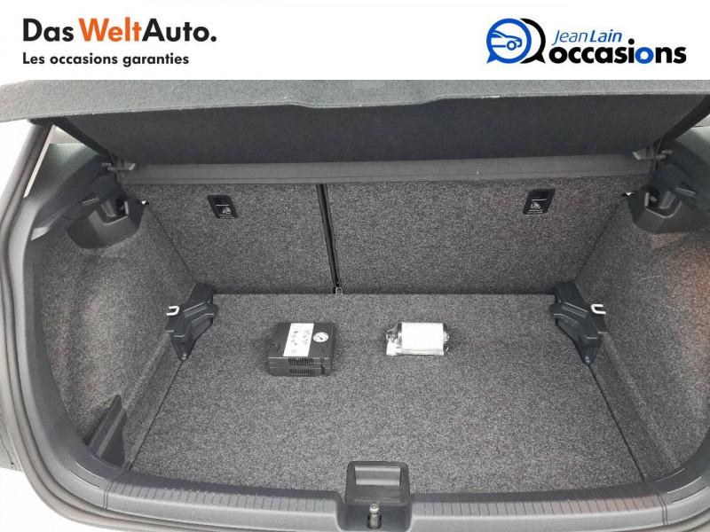 Volkswagen Polo VI Polo 1.0 TSI 95 S&S DSG7 Lounge 5p Blanc occasion à La Motte-Servolex - photo n°10