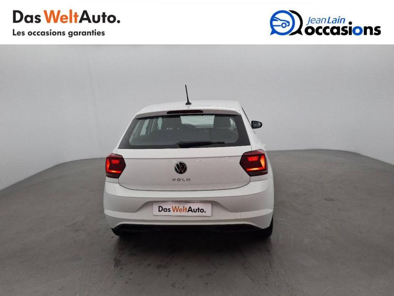 Volkswagen Polo VI Polo 1.0 TSI 95 S&S DSG7 Lounge 5p Blanc occasion à La Motte-Servolex - photo n°6