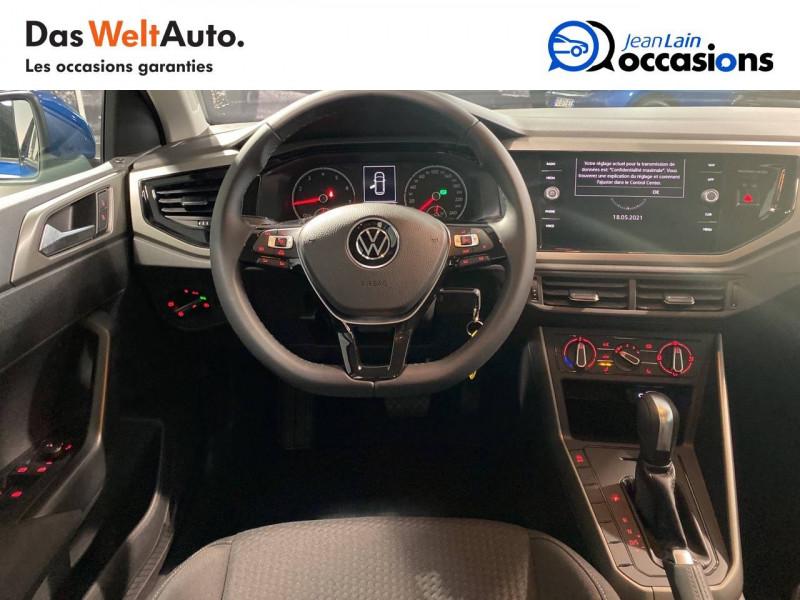 Volkswagen Polo VI Polo 1.0 TSI 95 S&S DSG7 Lounge 5p Bleu occasion à Seynod - photo n°11