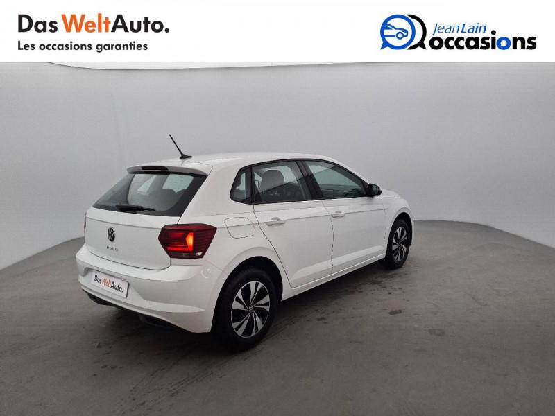 Volkswagen Polo VI Polo 1.0 TSI 95 S&S DSG7 Lounge 5p Blanc occasion à La Motte-Servolex - photo n°5
