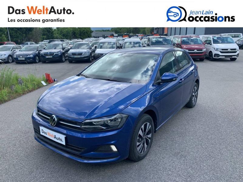 Volkswagen Polo VI Polo 1.0 TSI 95 S&S DSG7 Lounge 5p Bleu occasion à Cessy