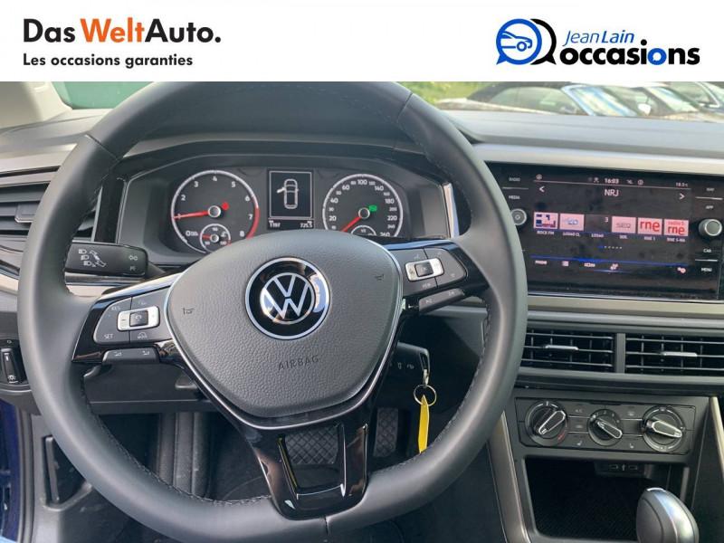 Volkswagen Polo VI Polo 1.0 TSI 95 S&S DSG7 Lounge 5p Bleu occasion à Cessy - photo n°12
