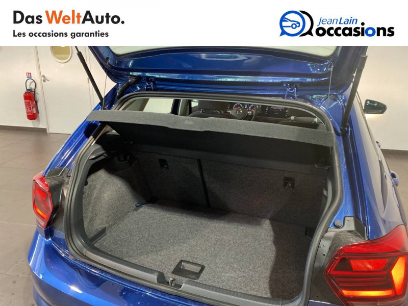 Volkswagen Polo VI Polo 1.0 TSI 95 S&S DSG7 Lounge 5p Bleu occasion à Seynod - photo n°10