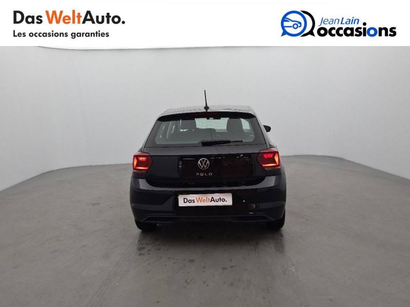 Volkswagen Polo VI Polo 1.0 TSI 95 S&S DSG7 Lounge 5p Noir occasion à La Motte-Servolex - photo n°6