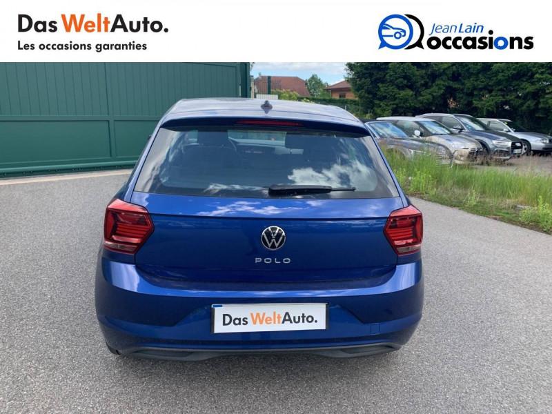 Volkswagen Polo VI Polo 1.0 TSI 95 S&S DSG7 Lounge 5p Bleu occasion à Cessy - photo n°6