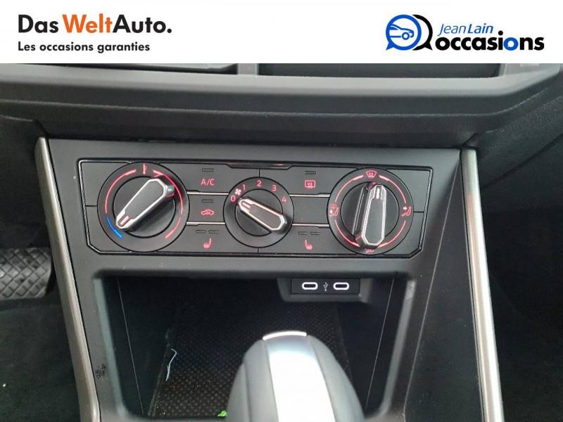 Volkswagen Polo VI Polo 1.0 TSI 95 S&S DSG7 Lounge 5p Noir occasion à La Motte-Servolex - photo n°14