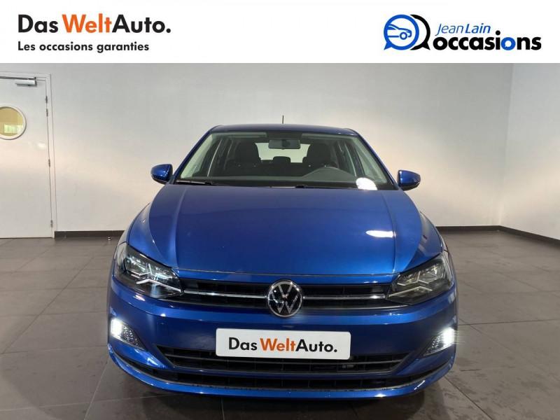 Volkswagen Polo VI Polo 1.0 TSI 95 S&S DSG7 Lounge 5p Bleu occasion à Seynod - photo n°2