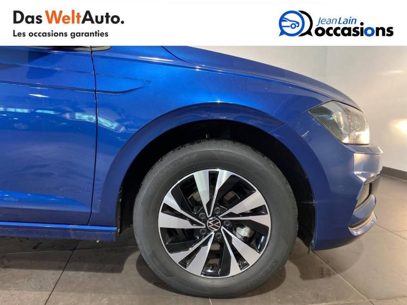 Volkswagen Polo VI Polo 1.0 TSI 95 S&S DSG7 Lounge 5p Bleu occasion à Seynod - photo n°9