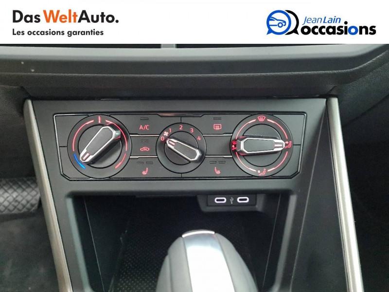 Volkswagen Polo VI Polo 1.0 TSI 95 S&S DSG7 Lounge 5p Blanc occasion à La Motte-Servolex - photo n°14
