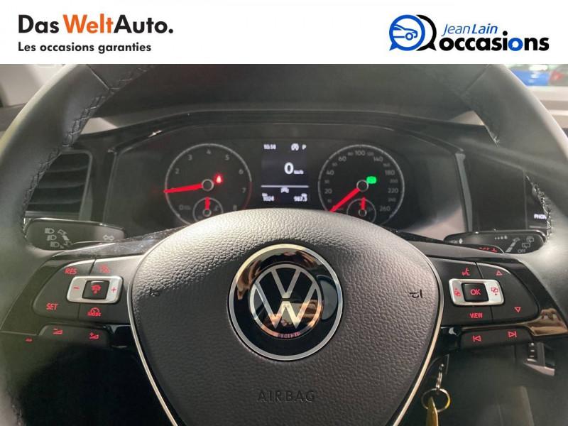 Volkswagen Polo VI Polo 1.0 TSI 95 S&S DSG7 Lounge 5p Bleu occasion à Seynod - photo n°12