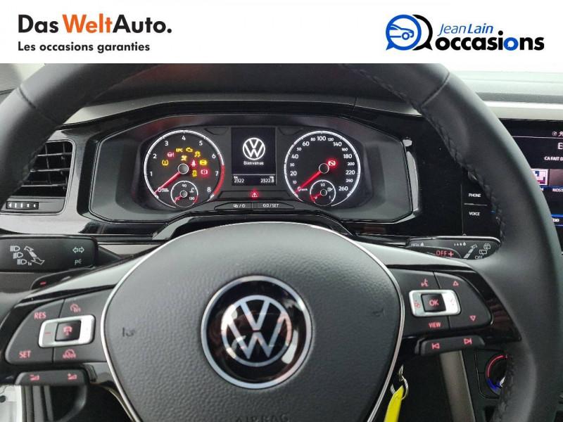 Volkswagen Polo VI Polo 1.0 TSI 95 S&S DSG7 Lounge 5p Blanc occasion à La Motte-Servolex - photo n°12