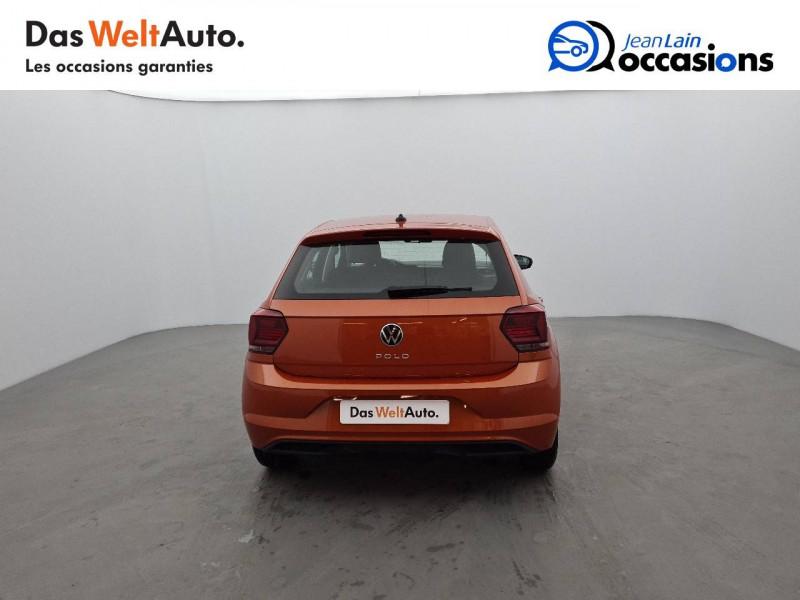 Volkswagen Polo VI Polo 1.0 TSI 95 S&S DSG7 Lounge 5p Orange occasion à La Motte-Servolex - photo n°6