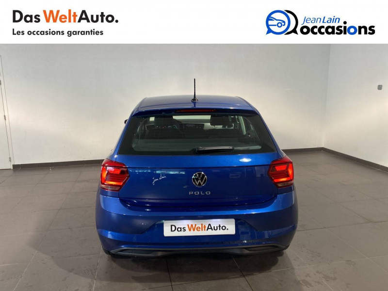 Volkswagen Polo VI Polo 1.0 TSI 95 S&S DSG7 Lounge 5p Bleu occasion à Seynod - photo n°6