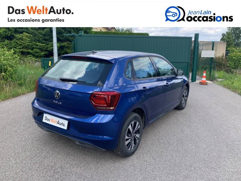 Volkswagen Polo VI Polo 1.0 TSI 95 S&S DSG7 Lounge 5p Bleu occasion à Cessy - photo n°5