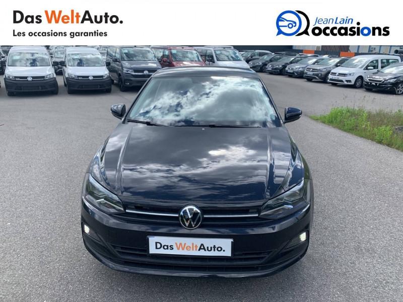 Volkswagen Polo VI Polo 1.0 TSI 95 S&S DSG7 Lounge 5p Noir occasion à Cessy - photo n°2