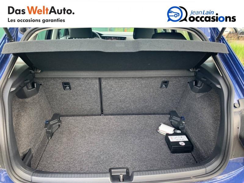 Volkswagen Polo VI Polo 1.0 TSI 95 S&S DSG7 Lounge 5p Bleu occasion à Cessy - photo n°10