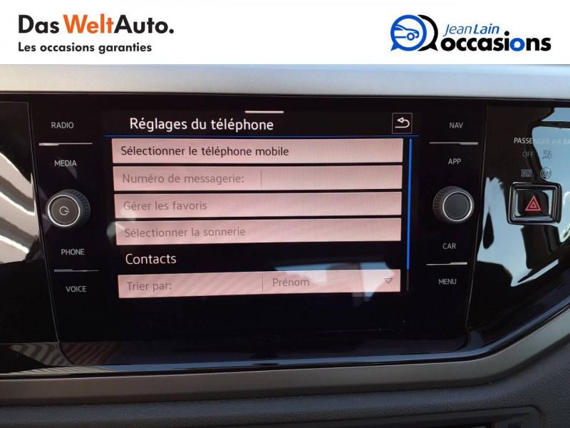 Volkswagen Polo VI Polo 1.0 TSI 95 S&S DSG7 Lounge 5p  occasion à La Motte-Servolex - photo n°16