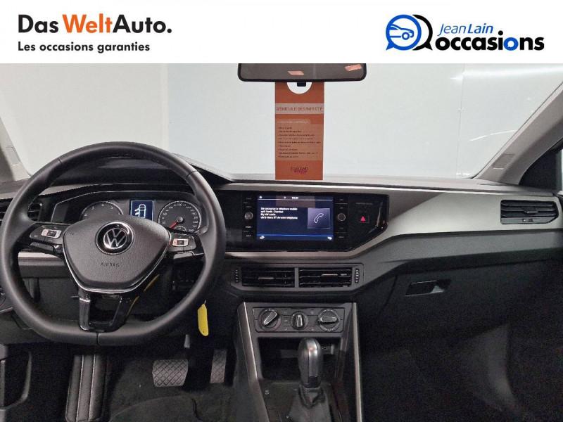 Volkswagen Polo VI Polo 1.0 TSI 95 S&S DSG7 Lounge 5p Blanc occasion à La Motte-Servolex - photo n°18