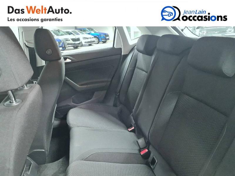 Volkswagen Polo VI Polo 1.0 TSI 95 S&S DSG7 Lounge 5p Blanc occasion à La Motte-Servolex - photo n°17