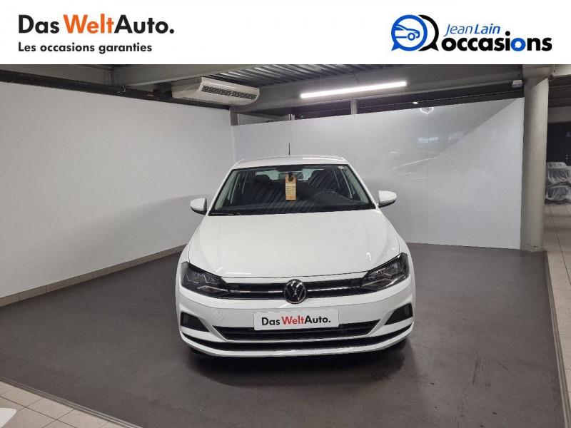 Volkswagen Polo VI Polo 1.0 TSI 95 S&S DSG7 Lounge 5p Blanc occasion à La Motte-Servolex - photo n°2