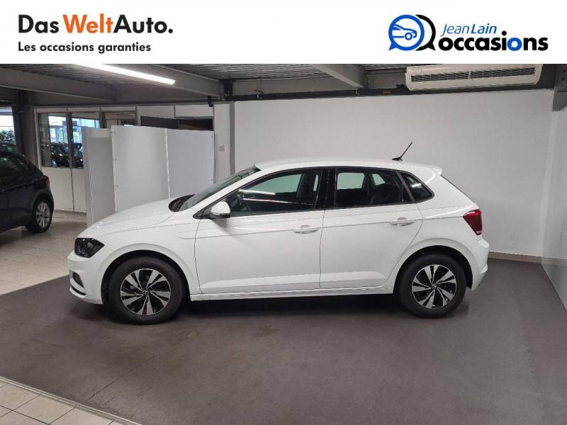 Volkswagen Polo VI Polo 1.0 TSI 95 S&S DSG7 Lounge 5p Blanc occasion à La Motte-Servolex - photo n°8