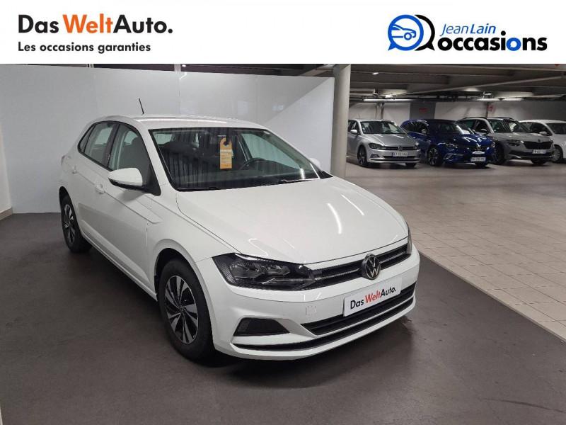 Volkswagen Polo VI Polo 1.0 TSI 95 S&S DSG7 Lounge 5p Blanc occasion à La Motte-Servolex - photo n°3