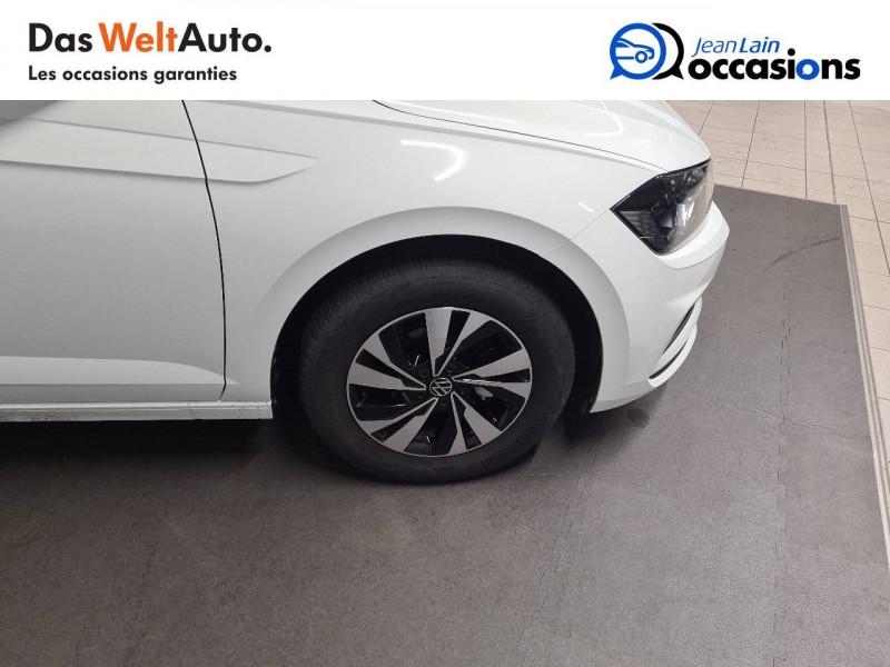 Volkswagen Polo VI Polo 1.0 TSI 95 S&S DSG7 Lounge 5p Blanc occasion à La Motte-Servolex - photo n°9