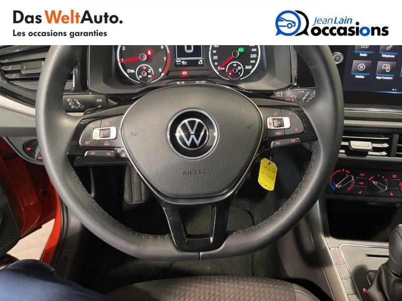 Volkswagen Polo VI Polo 1.0 TSI 95 S&S DSG7 Lounge 5p Orange occasion à Seynod - photo n°12