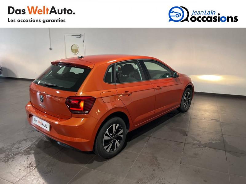 Volkswagen Polo VI Polo 1.0 TSI 95 S&S DSG7 Lounge 5p Orange occasion à Seynod - photo n°5