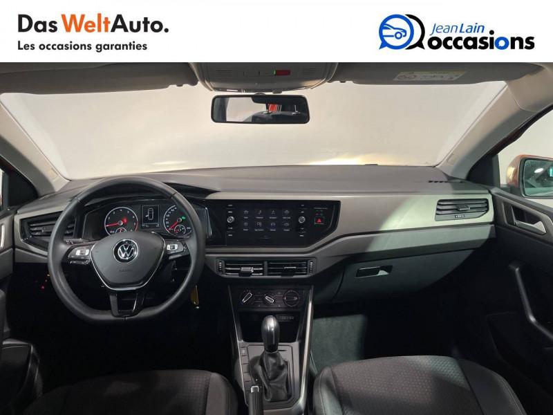 Volkswagen Polo VI Polo 1.0 TSI 95 S&S DSG7 Lounge 5p Orange occasion à Seynod - photo n°18