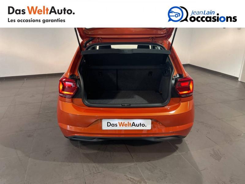 Volkswagen Polo VI Polo 1.0 TSI 95 S&S DSG7 Lounge 5p Orange occasion à Seynod - photo n°10