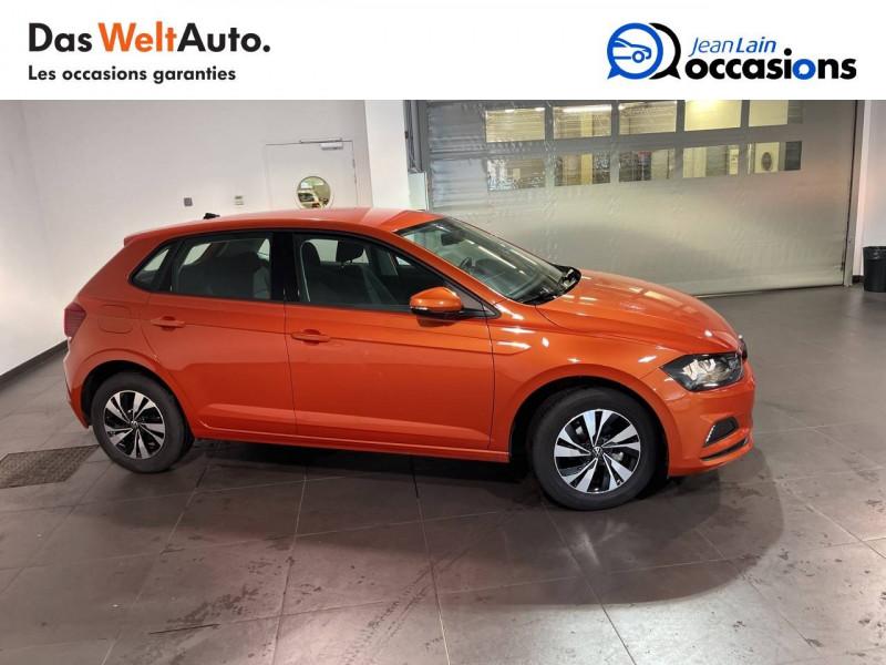 Volkswagen Polo VI Polo 1.0 TSI 95 S&S DSG7 Lounge 5p Orange occasion à Seynod - photo n°3