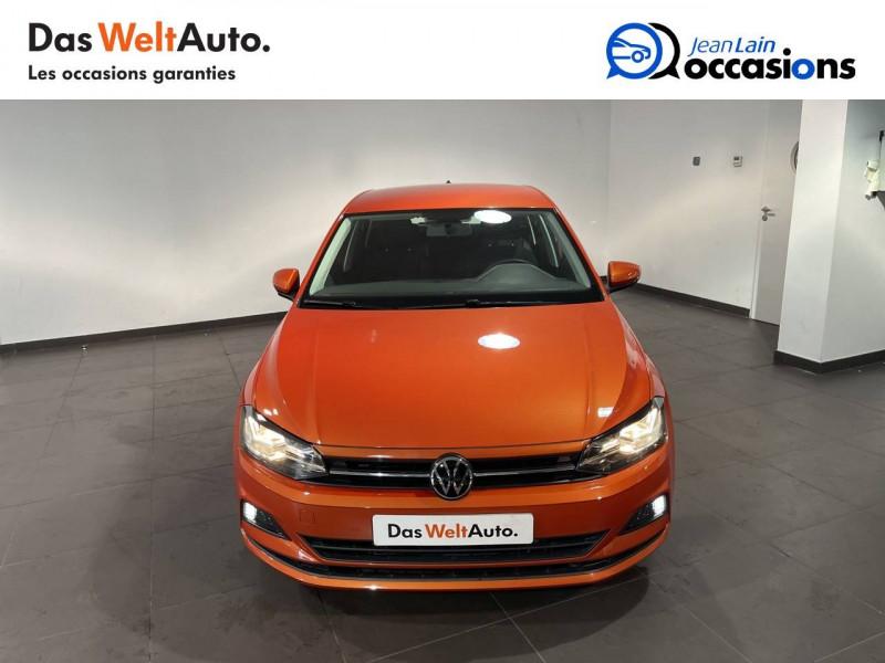 Volkswagen Polo VI Polo 1.0 TSI 95 S&S DSG7 Lounge 5p Orange occasion à Seynod - photo n°2