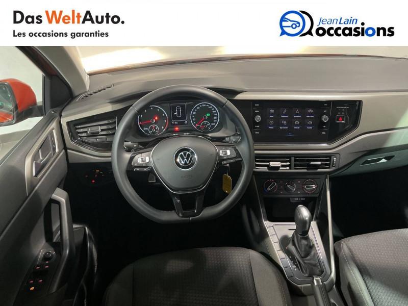 Volkswagen Polo VI Polo 1.0 TSI 95 S&S DSG7 Lounge 5p Orange occasion à Seynod - photo n°11