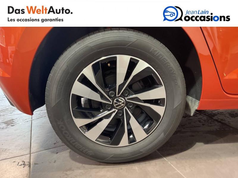 Volkswagen Polo VI Polo 1.0 TSI 95 S&S DSG7 Lounge 5p Orange occasion à Seynod - photo n°9