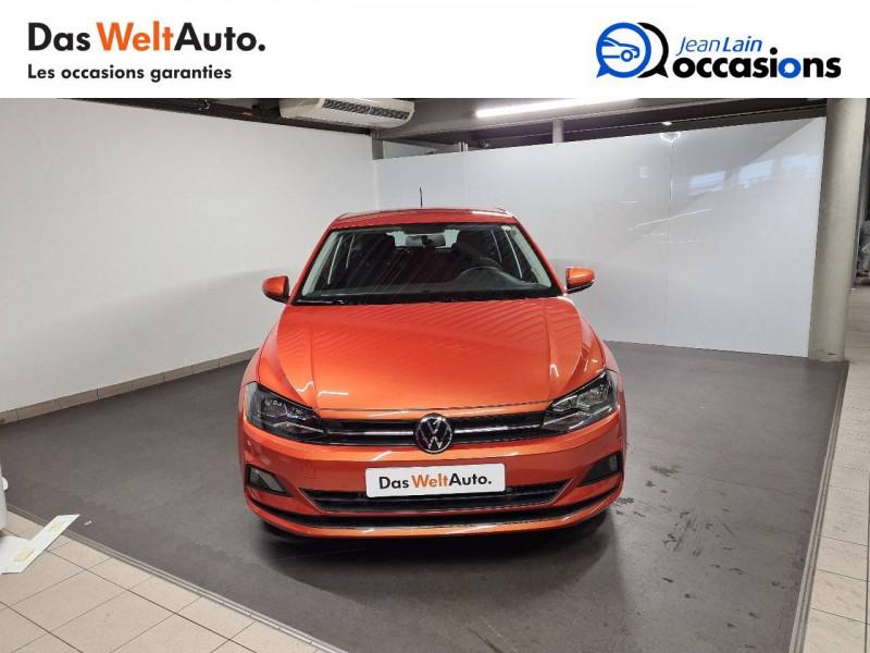 Volkswagen Polo VI Polo 1.0 TSI 95 S&S DSG7 Lounge 5p Orange occasion à La Motte-Servolex - photo n°2
