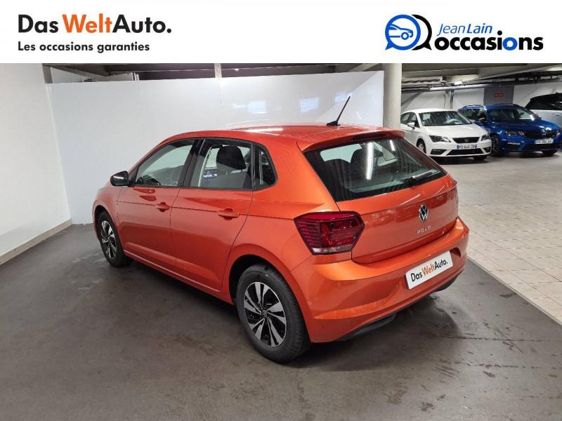 Volkswagen Polo VI Polo 1.0 TSI 95 S&S DSG7 Lounge 5p Orange occasion à La Motte-Servolex - photo n°7