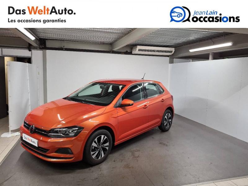 Volkswagen Polo VI Polo 1.0 TSI 95 S&S DSG7 Lounge 5p Orange occasion à La Motte-Servolex