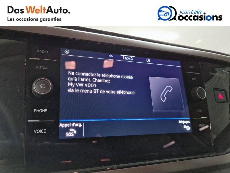 Volkswagen Polo VI Polo 1.0 TSI 95 S&S DSG7 Lounge 5p Orange occasion à La Motte-Servolex - photo n°16