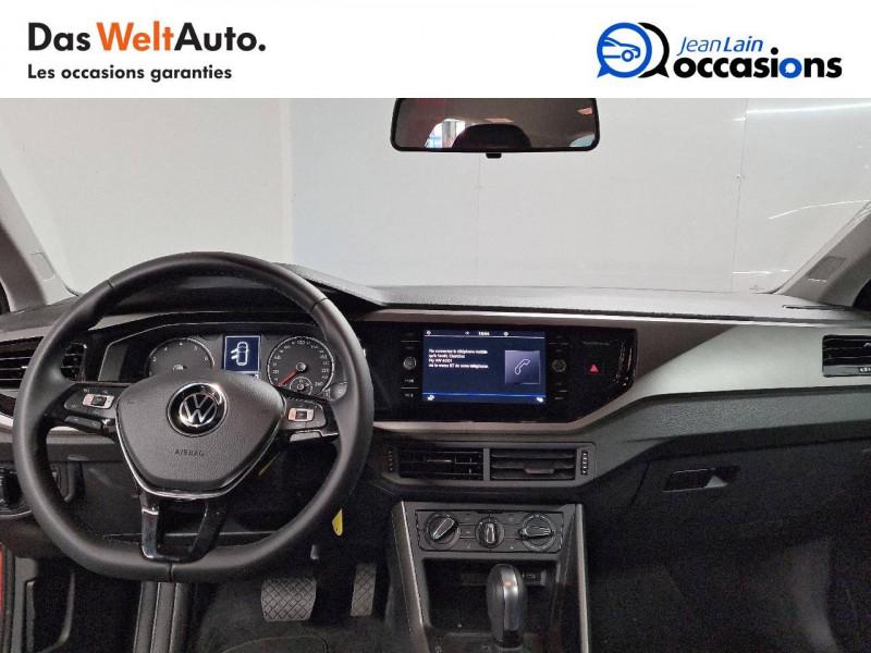 Volkswagen Polo VI Polo 1.0 TSI 95 S&S DSG7 Lounge 5p Orange occasion à La Motte-Servolex - photo n°18