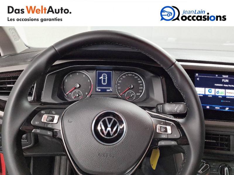 Volkswagen Polo VI Polo 1.0 TSI 95 S&S DSG7 Lounge 5p Orange occasion à La Motte-Servolex - photo n°12
