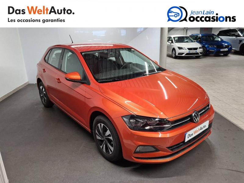 Volkswagen Polo VI Polo 1.0 TSI 95 S&S DSG7 Lounge 5p Orange occasion à La Motte-Servolex - photo n°3