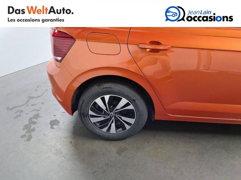 Volkswagen Polo VI Polo 1.0 TSI 95 S&S DSG7 Lounge 5p Orange occasion à La Motte-Servolex - photo n°9