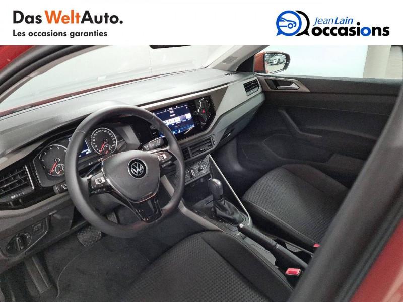 Volkswagen Polo VI Polo 1.0 TSI 95 S&S DSG7 Lounge 5p Orange occasion à La Motte-Servolex - photo n°11