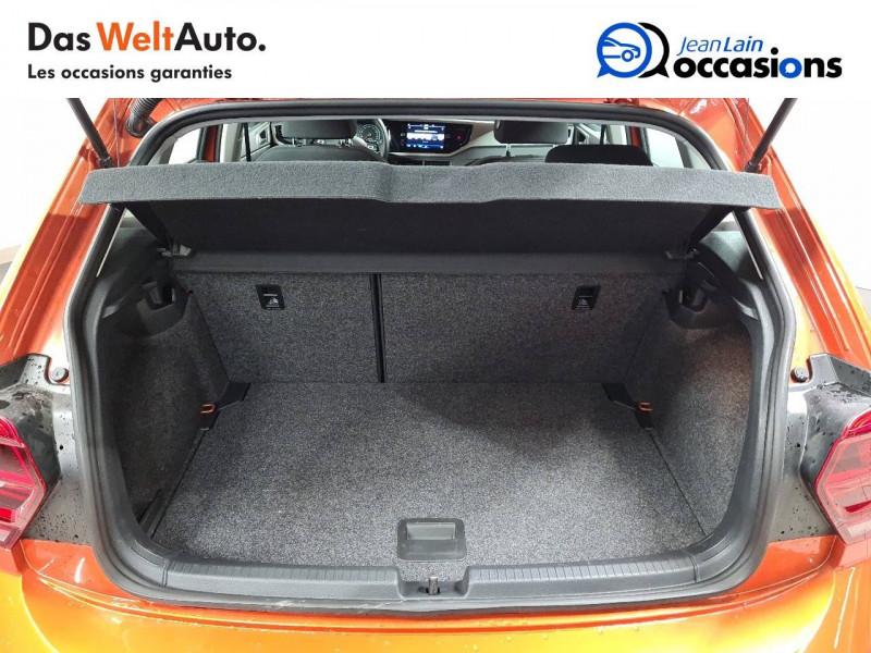 Volkswagen Polo VI Polo 1.0 TSI 95 S&S DSG7 Lounge 5p Orange occasion à La Motte-Servolex - photo n°10