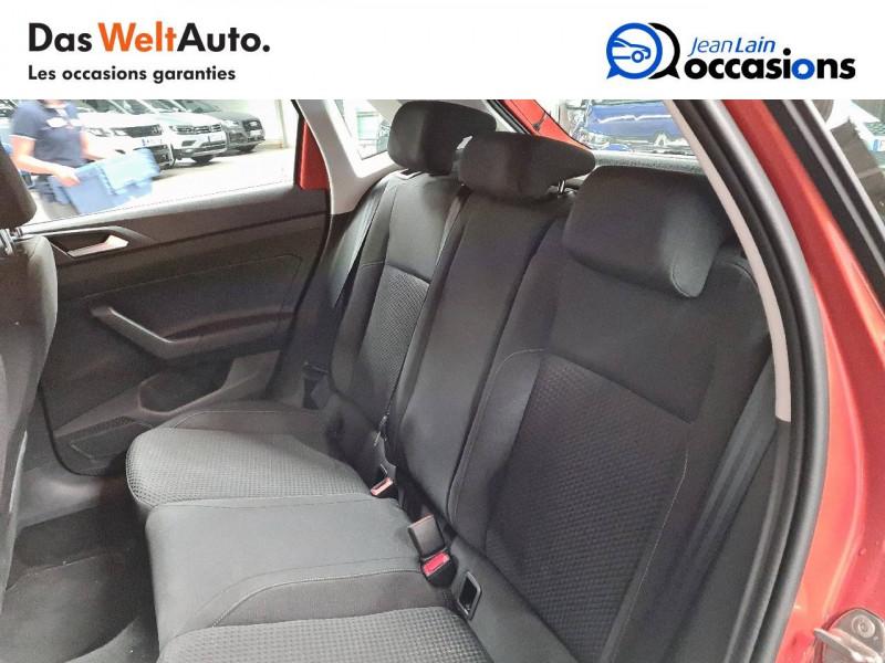 Volkswagen Polo VI Polo 1.0 TSI 95 S&S DSG7 Lounge 5p Orange occasion à La Motte-Servolex - photo n°17