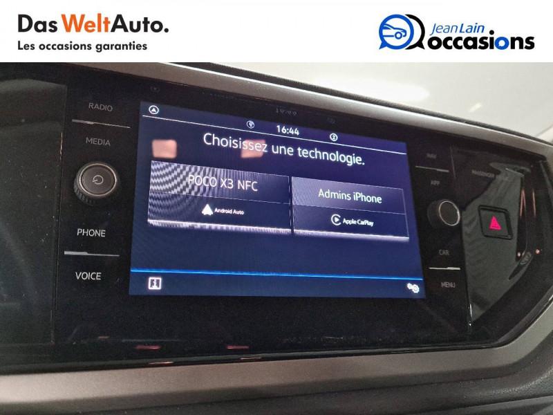 Volkswagen Polo VI Polo 1.0 TSI 95 S&S DSG7 Lounge 5p Orange occasion à La Motte-Servolex - photo n°15