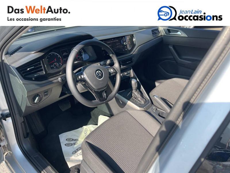 Volkswagen Polo VI Polo 1.0 TSI 95 S&S DSG7 Lounge 5p Gris occasion à Crolles - photo n°11