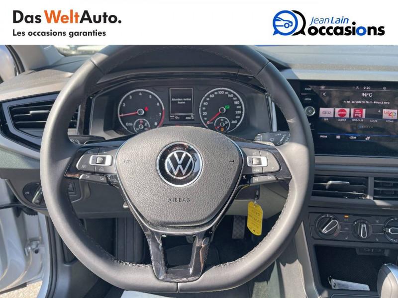 Volkswagen Polo VI Polo 1.0 TSI 95 S&S DSG7 Lounge 5p Gris occasion à Crolles - photo n°12