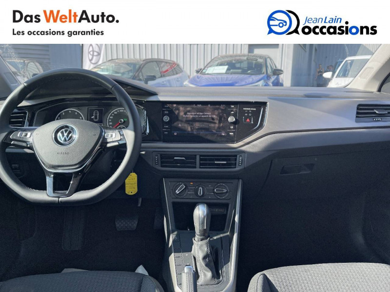 Volkswagen Polo VI Polo 1.0 TSI 95 S&S DSG7 Lounge 5p Gris occasion à Crolles - photo n°18